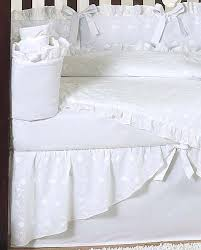 All White Crib Bedding White Baby Bedding Set White Eyelet By Jojo Only 189 99