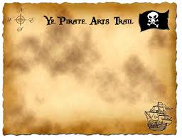 a treasure map that is an itinerary for the party love this i