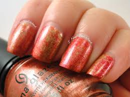 i feel polished fall plastic wrap nails