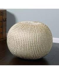 braided pouf ottoman knitted pouf ottoman target u2013 sensuuri info