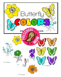 butterfly preschool printables