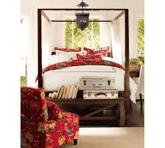 Bed Frames Farmhouse Bed Pottery by Best 25 Farmhouse Canopy Beds Ideas On Pinterest Wood Canopy