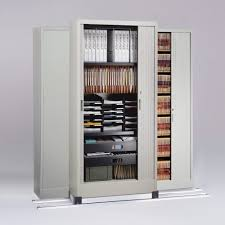 cabinet with shelves and doors office storage and filing cabinet with sliding locking doors on