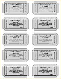 best free play ticket template lunch event cdr