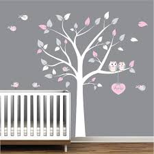 Tree Decal For Nursery Wall Vinyl Wall Decal Nursery Tree Decal Bird Tree Nursery E48 Wall