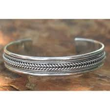 sterling silver woven bracelet images Braided sterling silver bracelets for less overstock jpg