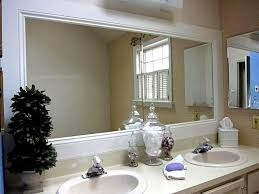Bathroom Mirror Frames Kits Adorable Ideas Bathroom Mirror Frame Kit Marvelous Ideas Ideas
