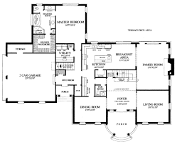 large country home plan dashing bedroom floor plans two house