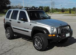 jeep liberty fender flare how to debadge a jeep liberty jeeps canada jeep forums