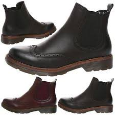 womens dealer boots uk brogue ankle boots ebay