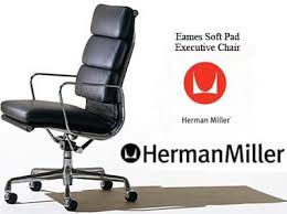 Desk Chair Herman Miller Eames Aluminum Group Soft Pad Office Task Desk Chairs By Herman
