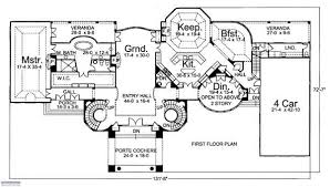 chateau floor plans chateau de villesarin 7936 5 bedrooms and 5 baths the house