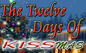 12 day of kissmas list mike and tricia s early gift to
