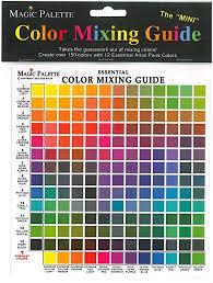amazon com series 5700 magic palette the mini color mixing guide
