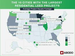 Leed House Plans The Top U S Cities For Leed Certified Construction Builder