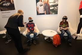 lexus virtual drive app virtual reality an emerging autoshow trend wheels ca