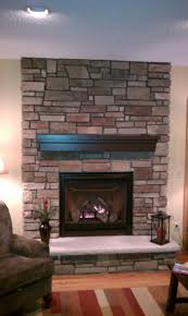 Fireplace Design Tips Home by Fireplace Top Ledgestone Fireplace Home Design Image Amazing