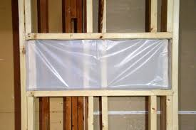 Vapor Barrier In Bathroom Installing The Vapor Barrier For The Bathroom Shower Blog