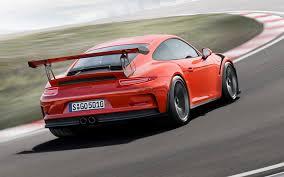 Porsche 911 Gt4 - the 911 gt3 rs uses several carbon fibre components picture