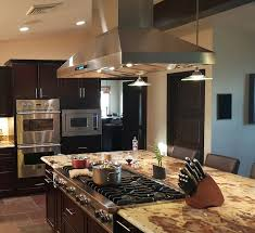 island kitchen hoods kitchen amazing the 10 best island range hoods compactappliance