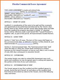 Rental House Lease Agreement Template 7 Florida Residential Lease Agreement Form Purchase Agreement Group