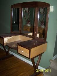 Pink Vanity Table Custom Made Walnut And Maple Vanity Dressing Table By Bob Peters