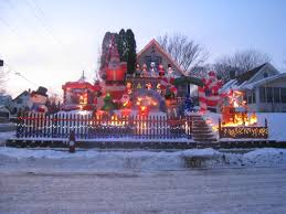 Lake Belton Christmas Lights by Embrace The Darkness Streets Mn