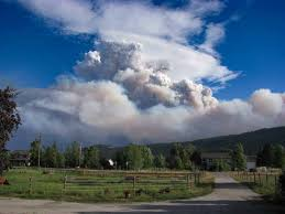 Alaska Wildfire Road Closures by Lolo Peak Fire Causes More Evacuations Highway 12 Closed