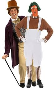 Oompa Loompa Costume Chocolate Man U0026 Oompa Loompa Combination Jokers Masquerade