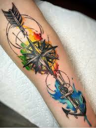 tricep tattoo pinterest tattoo idea for my forearm or left tricep no anchor just the arrow