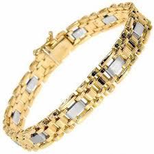 woven link bracelet images Men 39 s woven link and black onyx bracelet in 14k gold view all jpg