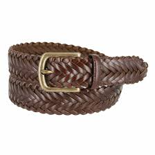 men u0027s braided leather dress belt 1 3 8