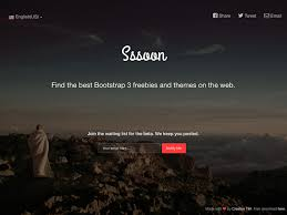coming sssoon page free one page bootstrap template creative tim