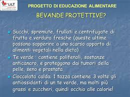 alimenti prostata progetto di educazione alimentare prevenzione oncologica primaria