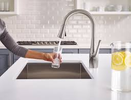 kitchen filter faucet ge appliances collaborates with pfister on faster more advanced