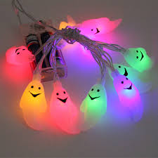 halloween ghost string lights 10 led hanging diy halloween decoration outdoor pumpkins ghost led