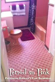 contemporary black bathroom together with pink plus pink bathrooms