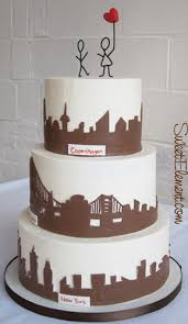 wedding cake nyc modern wedding cake sweetelement