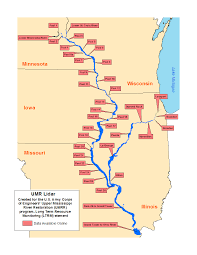 Illinois River Map Digital Lidar Derivatives