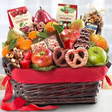 nuts gift basket chocolate nuts and fresh fruit gift basket aa4048 a