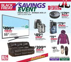 bjs black friday 2018 ads deals and sales