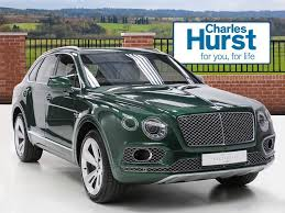 bentley green bentley bentayga w12 green 2016 08 01 in county antrim gumtree
