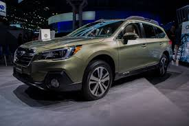 subaru forester redesign 2018 subaru outback gets new style tons of tweaks autoguide com