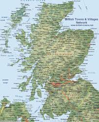 map of scotland and map of scotland