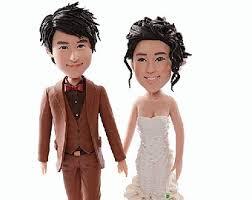 cake toppers bobblehead custom cake topper bobble figurines by miniucaketopper