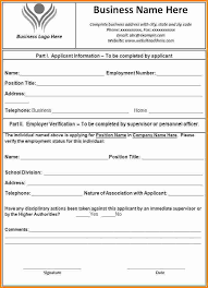 format lop word 2010 employment form template etame mibawa co