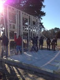 new earth farm educational garden construction work program