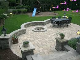 Rock Patio Design Rock Patio Landscaping Landscaping Custom Landscape