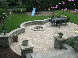 Rock Patio Designs Rock Patio Landscaping Landscaping Custom Landscape