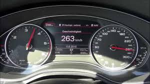 audi q7 3 0 tdi top speed 2015 audi a6 3 0 tdi s line 272 hp top speed on german autobahn
